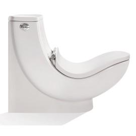 توالت فرنگی سیلویا طبی چینی مروارید